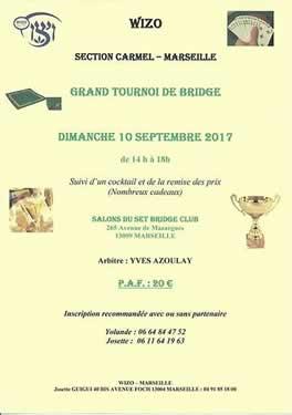 Tournoi de bridge - Wizo