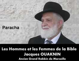 Dvar du Grand Rabbin Jacques OUAKNIN.